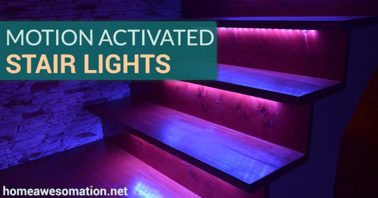 motion lights for stairs