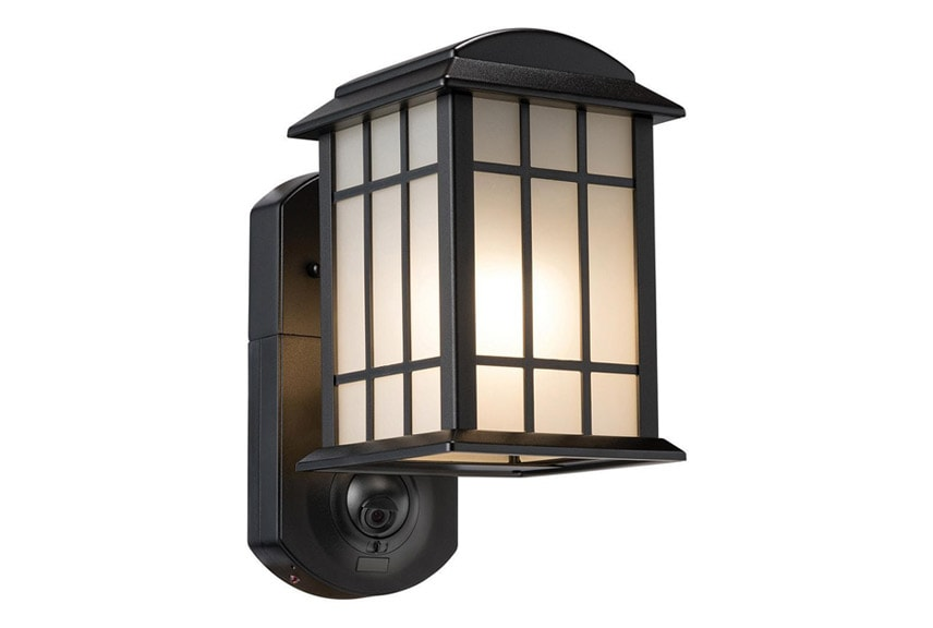 porch light security camera