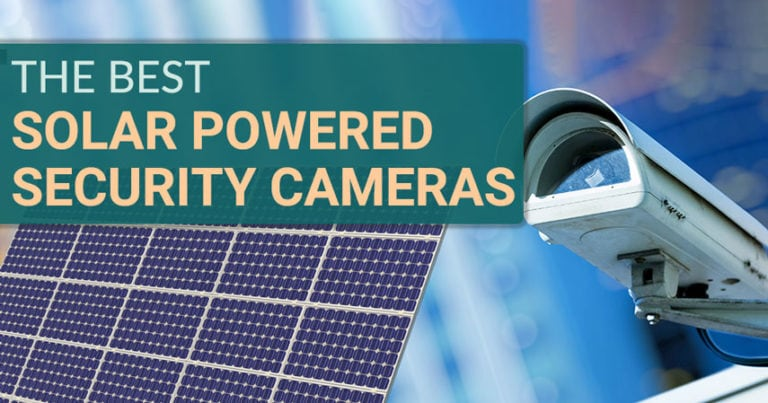 best solar powered security camera