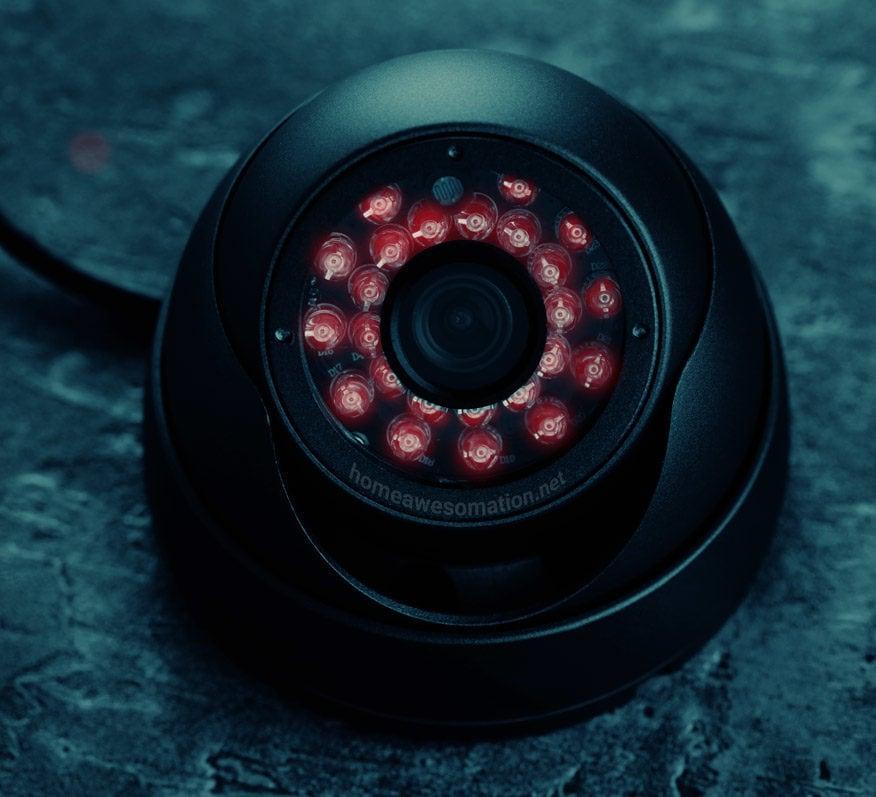 spot a night vision camera