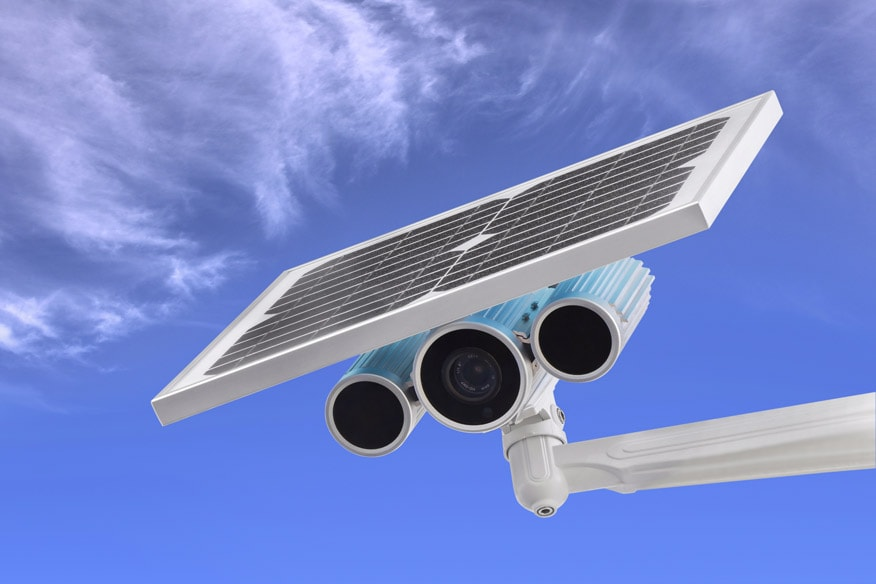 solar powered CCTV