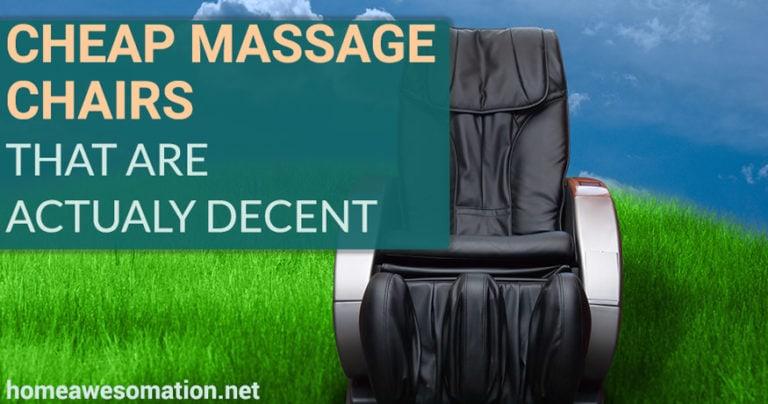 best cheap massage chairs