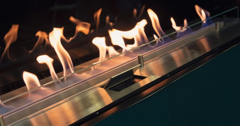 realistic electric fireplace flames