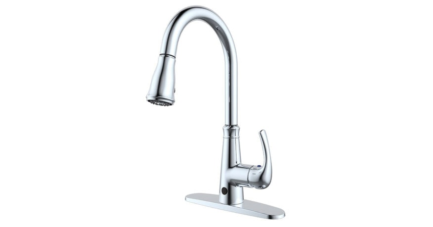 RunFine RFG202G-2 Pull Down Touchless Single Handle Kitchen Faucet