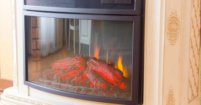 electric fireplace are safer than open-flame fireplace