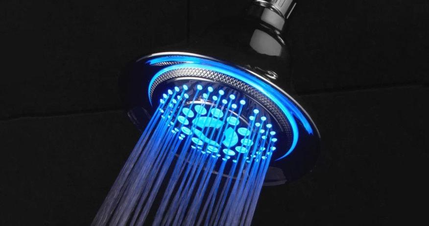 best led shower head